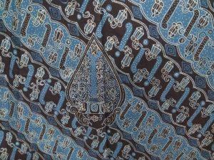 Motif Batik Lereng Robyong
