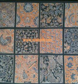motif batik sampel